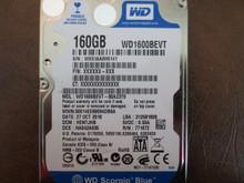 Western Digital WD1600BEVT-80A23T0 DCM:HENTJHB 160gb Sata