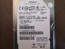 Hitachi HTS541010G9SA00 PN:0A27490 MLC:DA1493 100gb Sata