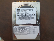 Toshiba MK8025GAS HDD2188 S ZK01 S 610 A0/KA023H 80gb IDE (Donor for Parts)  854Y6428S (T)