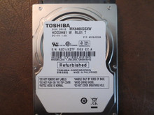 Toshiba MK6465GSXW HDD2H81 W RL01 T 010 A0/GJ003A 640gb Sata (Donor for Parts)