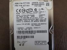 Hitachi HTS541680J9SA00 PN:0A55731 MLC:DA2043 80gb Sata 11S42T1081Z1ZDJF001XNT (T)