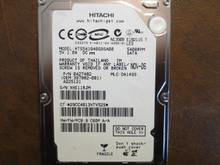 Hitachi HTS541040G9SA00 PN:0A27482 MLC:DA1493 40gb Sata
