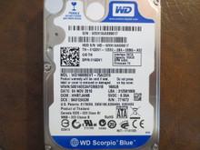 Western Digital WD1600BEVT-75A23T0 DCM:HHBTJANB 160gb Sata