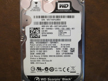 Western Digital WD2500BEKT-75PVMT1 DCM:HHNTJHB 250gb Sata (Donor for Parts)