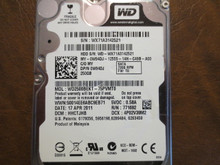 Western Digital WD2500BEKT-75PVMT0 DCM:HHCTJHB 250gb Sata (Donor for Parts)