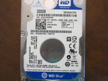 Western Digital WD3200LPVX-75V0TT0 DCM:HMBTJBB 320gb Sata (Donor for Parts)