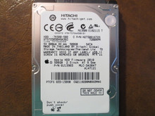 Hitachi HTS725050A9A362 PN:0J13965 MLC:DA3847 Apple#655-1589B 500gb Sata (Donor for Parts)