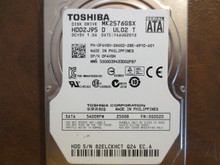 Toshiba MK2576GSX HDD2J95 D UL02 T FW:GS002D 250gb Sata (Donor for Parts)
