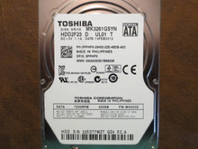 Toshiba MK3261GSYN HDD2F23 D UL01 T FW:MH000D 320gb Sata (Donor for Parts)