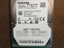 Toshiba MK3261GSYN HDD2F23 D UF01 S FW:MH000D 320gb Sata (Donor for Parts)