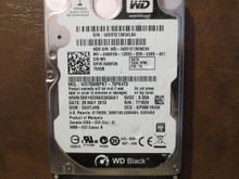 Western Digital WD7500BPKT-75PK4T0 DCM:EAOTJHB 750gb Sata (Donor for Parts)