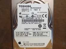 Toshiba MK2555GSXF HDD2H74 X TW01 S 010 D3/FH405B Apple#655-1550D 250gb Sata (Donor for Parts)