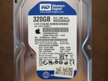 Western Digital WD3200AAJS-40H3A2 DCM:HHRNNT2CAN Apple#655-1472F 320gb Sata (Donor for Parts)