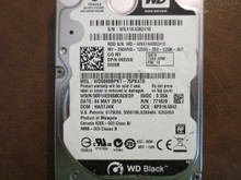 Western Digital WD5000BPKT-75PK4T0 DCM:HAOTJHK 500gb Sata (Donor for Parts)