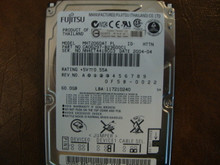 Fujitsu MHT2060AT PL CA06297-B23600C1 0F5B-0022 60gb IDE/ATA (Donor for Parts)