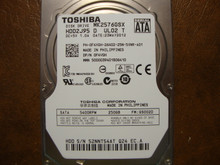 """Toshiba MK2576GSX HDD2J95 D UL02 T FW:GS002D 250gb 2.5"""" Sata"""