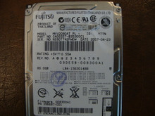 Fujitsu MHV2080AT PL CA06557-B35300C1 09DE5B-008300A1 80gb IDE/ATA (Donor for Parts)