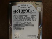 Hitachi HTS541060G9SA00 PN:0A26143 MLC:DA1239 60gb Sata (Donor for Parts)
