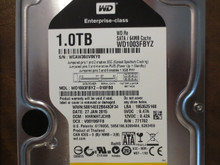 Western Digital WD1003FBYZ-010FB0 DCM:HHRNHTJCHB 1.0TB Sata (Donor for Parts)