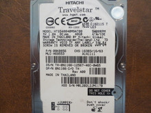 Hitachi HTS548040M9AT00 PN:08K0856 MLC:H69553 40gb IDE (Donor for Parts) MRL202L2JM117B