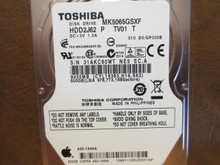 Toshiba MK5065GSXF HDD2J62 P TV01 T 010 D0/GP005B Apple#655-1646A 500gb Sata