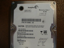 Seagate ST94813AS 9W3172-055 FW:3.06 WU 40gb Sata (Donor for Parts)