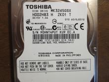 Toshiba MK3265GSX HDD2H83 H ZK01 T 010 A0/GJ001Q 320gb Sata