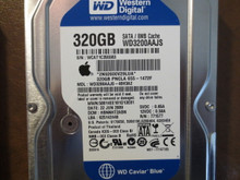 Western Digital WD3200AAJS-40H3A2 DCM:HBNNHT2ABN Apple#655-1472F 320gb Sata