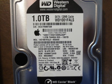 Western Digital WD1001FALS-403AA0 DCM:HANNHTJAAB Apple#655-1567D 1.0TB Sata (Donor for Parts)
