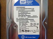 Western Digital WD2500AAKX-603CA0 DCM:HHRNNTJMHN 250gb Sata (Donor for Parts)