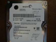 Seagate ST9100827AS 9S113F-020 FW:3.BHD WU 100gb Sata (Donor for Parts)