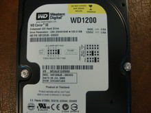 WD WD1200JB-00GVC0 DCM:DSCANTJAH 120gb IDE/ATA (Donor for Parts)