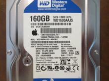 Western Digital WD1600AAJS-40H3A2 DCM:DANNHT2AAN Apple#655-1470D 160gb Sata
