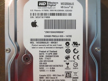 Western Digital WD3200AAJS-40H3A1 DCM:DHRNHT2CHN Apple# 655-1472E 320gb Sata