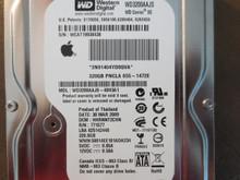 Western Digital WD3200AAJS-40H3A1 DCM:HHRNNT2CHN Apple# 655-1472E 320gb Sata (T)