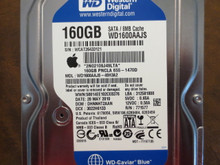 Western Digital WD1600AAJS-40H3A2 DCM:DHNNHT2AAN Apple#655-1470D 160gb Sata