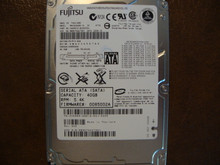Fujitsu MHV2040BH PL CA06672-B23000DL 0BDD2A-0085002A 40gb Sata NW9KT6A2795Y (B)