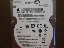 Seagate ST9250315ASG 9KAG32-042 FW:0008APM2 WU Apple#655-1570C 250gb Sata