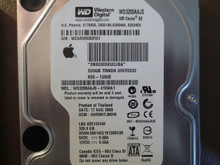 Western Digital WD3200AAJS-41VWA1 DCM:HHRNHTJMHN Apple#655-1380E 320gb Sata (Donor for Parts)