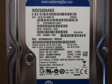 Western Digital WD2500AAKX-603CA0 DCM:DANNHT2MHN 250gb Sata (Donor for Parts)