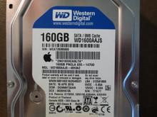 Western Digital WD1600AAJS-40H3A2 DCM:DGNNNT2AAN Apple#655-1470D 160gb Sata