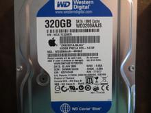 Western Digital WD3200AAJS-40H3A2 DCM:DHNNNT2AHN Apple#655-1472F 320gb Sata