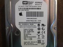 Western Digital WD3200AAJS-40H3A0 DCM:HHNNHTJCBN Apple#655-1472C 320gb Sata