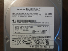 Hitachi HDS721075KLA330 PN:0A35850 MLC:BA2634 Apple#655-1394A 750gb Sata