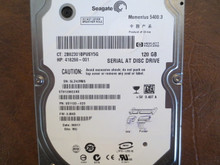 Seagate ST9120822AS 9S1133-020 FW:3.BHD WU 120gb Sata (Donor for Parts) 5LZ42M85