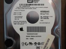 Western Digital WD5000AAKS-41YGA1 DCM:HARNNT2MAB Apple#655-1360G 500gb Sata