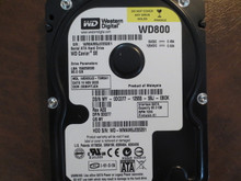 WD WD800JD-75MSA1 DCM:DSBHYTJCH 80gb Sata (Donor for Parts)