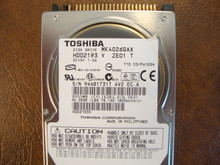 Toshiba MK4026GAX HDD2193 V ZE01 T 110 C0/PA103H 40gb IDE  (Donor for Parts)
