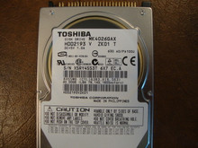 Toshiba MK4026GAX HDD2193 V ZK01 T 630 A0/PA100U 40gb IDE  (Donor for Parts) X5RY4553T