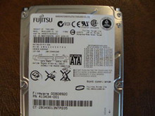Fujitsu MHV2120BH PL CA06672-B25600C1 0BCBEB-0080892C 120gb Sata (Donor for Parts) (92GYND)
